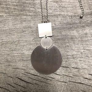 CJLA silver necklace